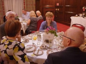 Aileen at AGM 2016 dinner