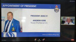 President Andrew Kerr